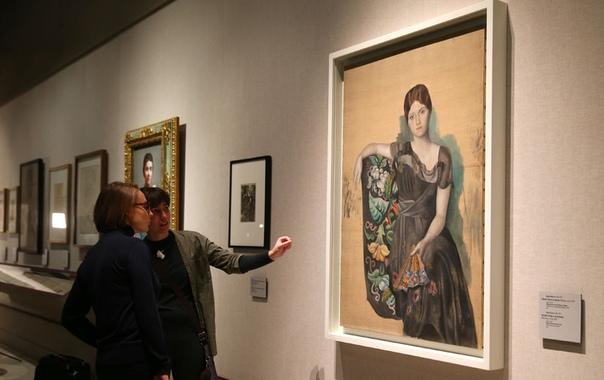 В Пушкинском музее проходит выставка о музе Пабло Пикассо