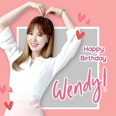 """Shilla Duty Free Singapore on Instagram """"ReVeLuv, let's celebrate HappyWendyDay with a heartfelt birthday wish for the lovely Wendy! 💙 We wish ..."""