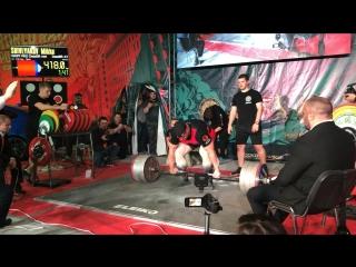 Шивляков Михаил становая тяга 418 кг