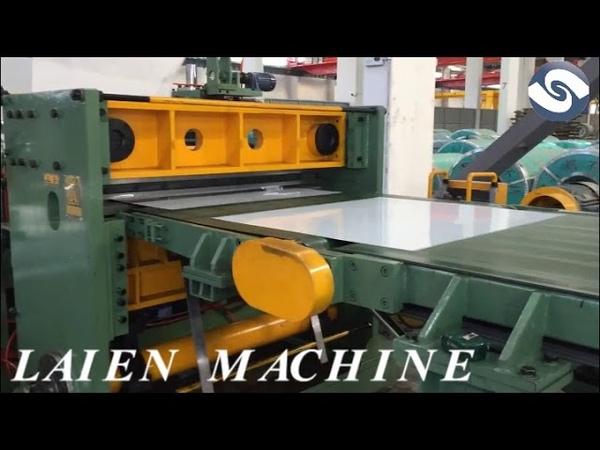Automatic tracking shear machine line,high speed cut to length machine line