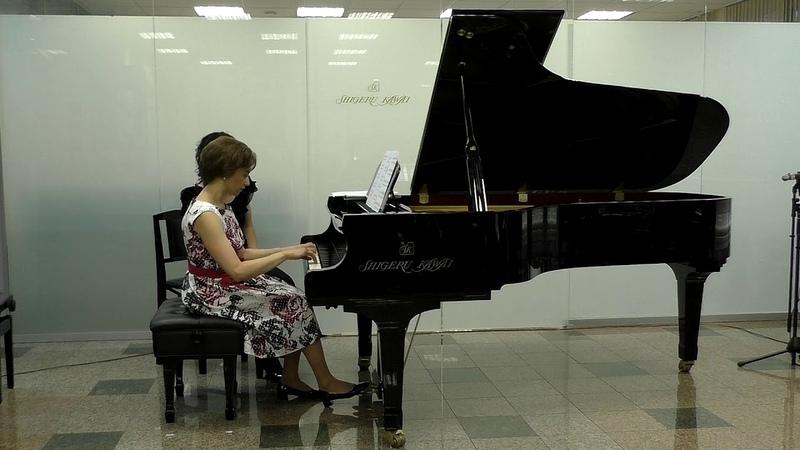Д. Скарлатти – Э. Гранадос, Соната №4. Исполняет Ирина Красотина.