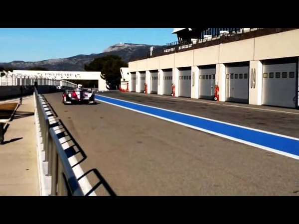 Hybrid Endurance Race Car Switching From Electric to Gas Engine Sound