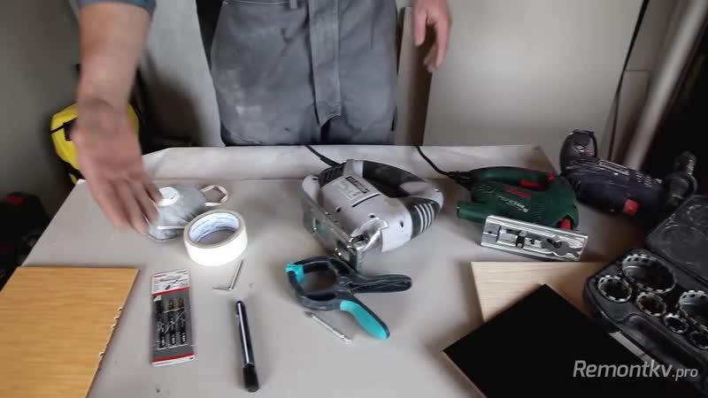 Как сделать большое отверстие в плитке Просто быстро дешево