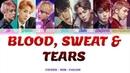BTS - Blood Sweat Tears Lyrics Español- Rom -English