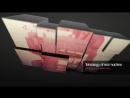 0253-Glossy Box Video Display