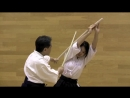 Урок фехтования японским мечом от мастера Kouga Sekido