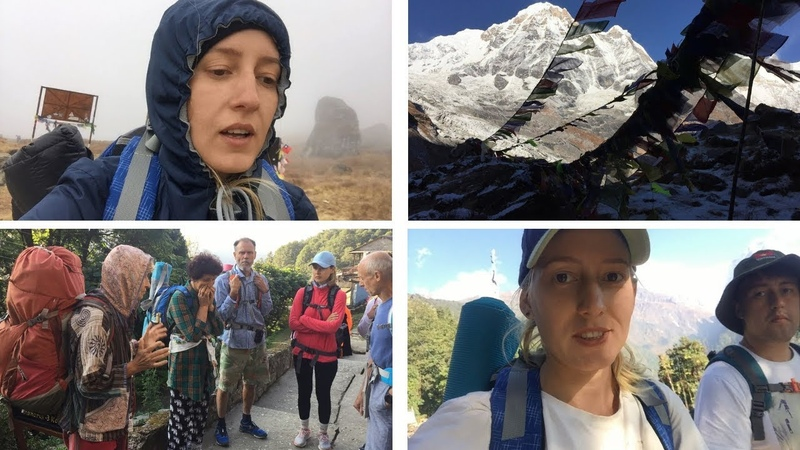 Выжили на сыроедении в Гималаях! 🍍 🍌🍏 Отзыв Алёны про йога-тур в Непал 2018