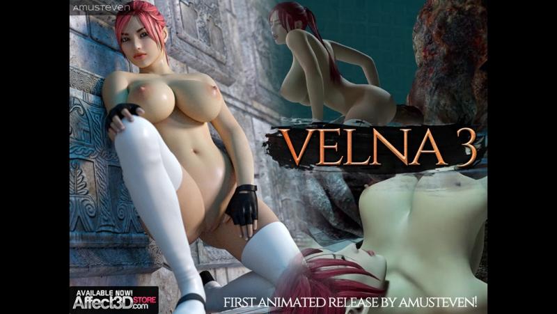 Rule34 Amusteven Velna 3 the Animation 3 D porn monster sound