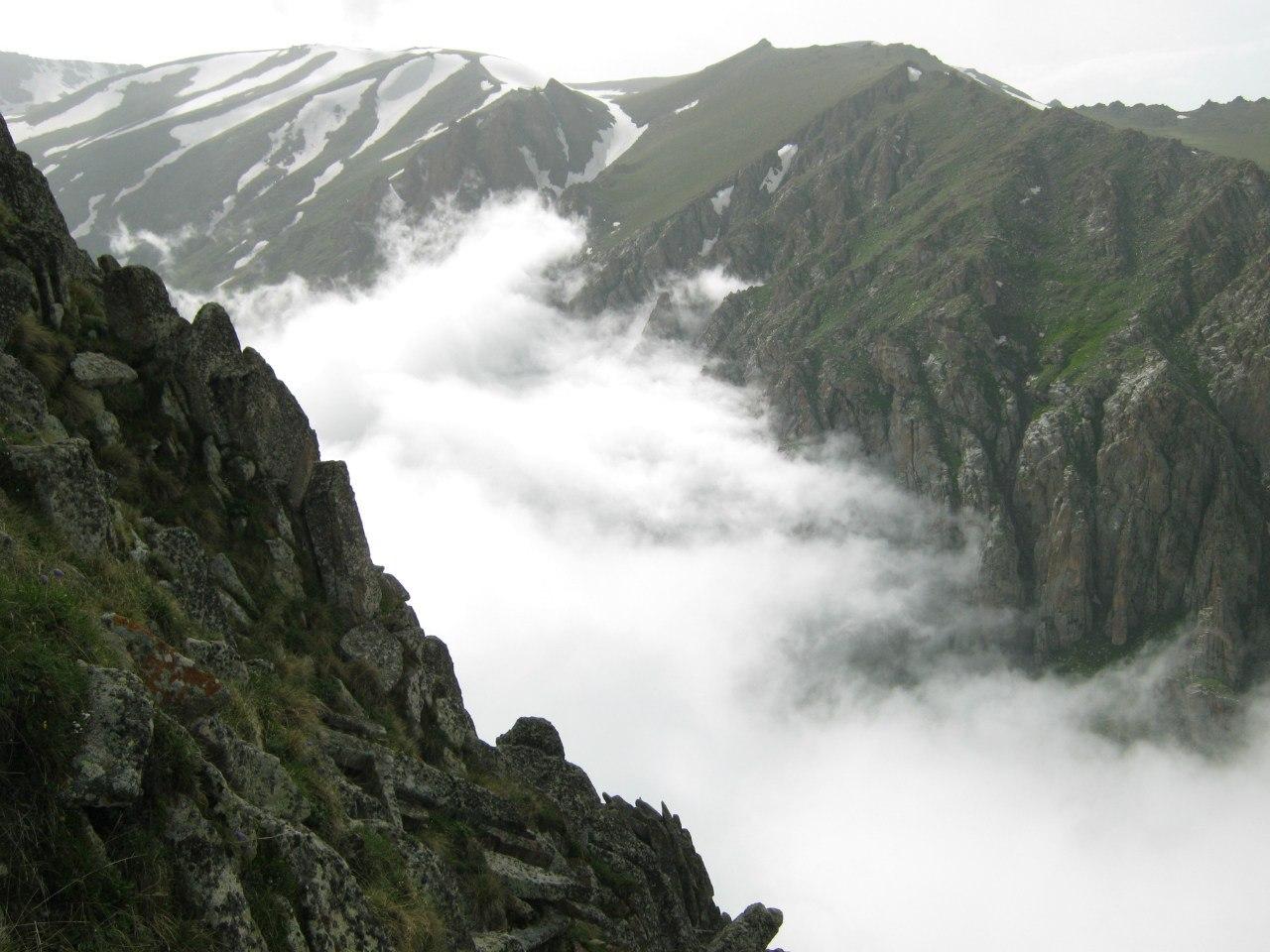 каньон над Мегрийским перевалом