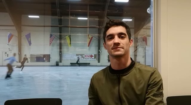 Видео из инстаграма Хавьера Фернандеса