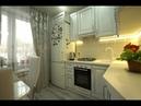Шикарная кухня из массива дуба на 5 кв.м. Просторная, красивая, неповторимая маленькая кухня.