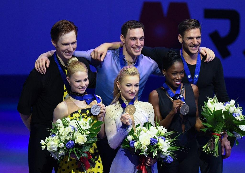 Image result for чемпионат мира по фигурному катанию медали 2018