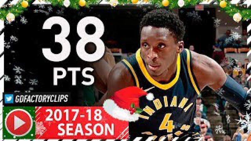 Victor Oladipo Full Highlights vs Celtics (2017.12.18) - 38 Pts, MIP!