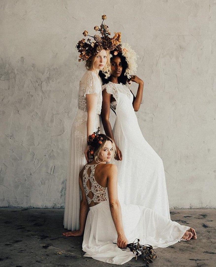 Фотосессия с цветочным оформлением Эми Балстерз