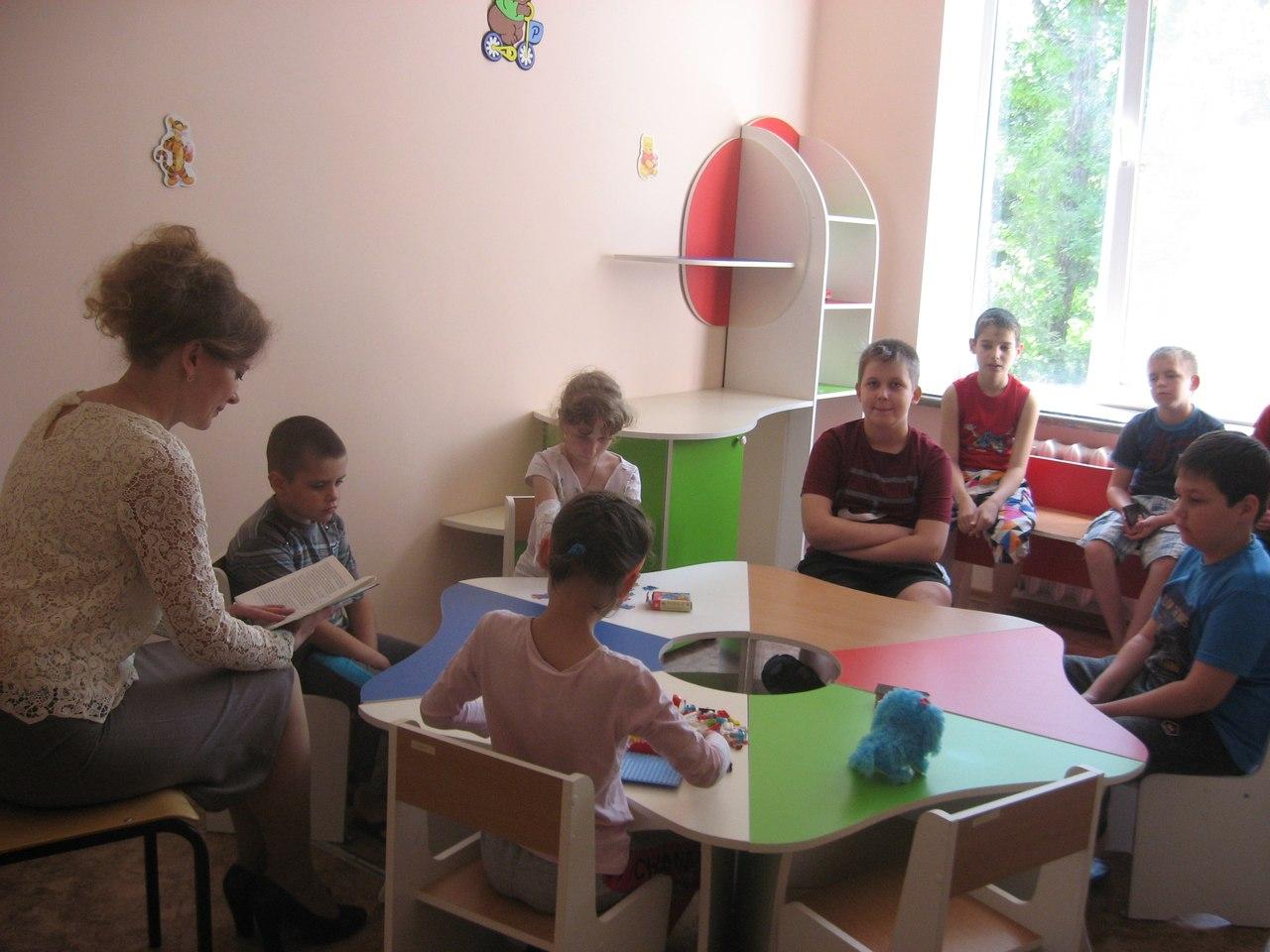 донецкая республиканская библиотека для детей, сектор организации досуга детей, время читать классику