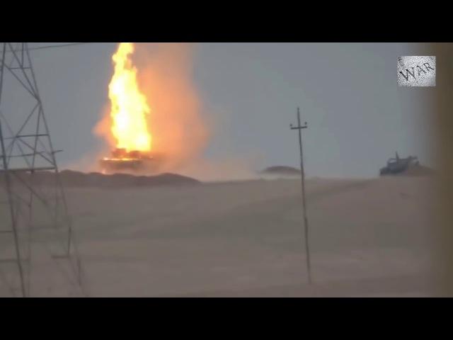 ИГИЛ подорвали американский танк Abrams в Ираке