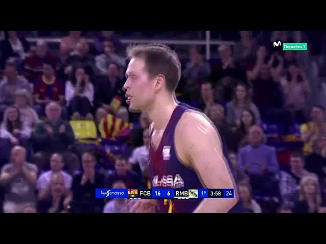 ACB 2017 -2018 J22 FC Barcelona- R Madrid