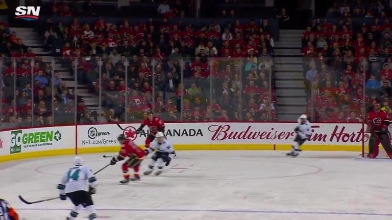 San Jose Sharks vs Calgary Flames Mar 16 2018 Game Highlights NHL 2017 1
