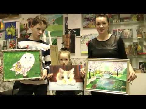 Отзыв: Живопись маслом для детей. Рисование с детьми спб