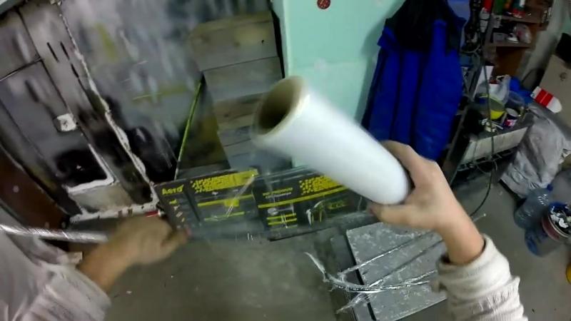 Merсedes 124 серия 58. Вклеиваем стекло. Body repair