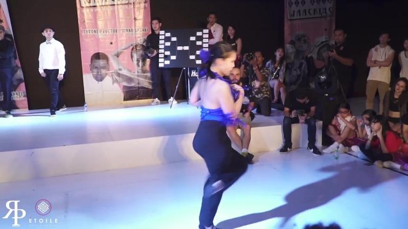 Danzel (INA) vs Yoon Ji (KR) _ Top4 _ AAWF 2018 Grand Finals Bali, Indonesia by Etoile Dance