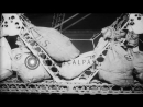 A cook roasts chicken and men peel onions and potatoes aboard USS Akron in Stock Footage