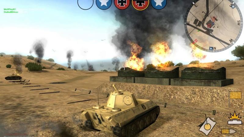 Panzer Elite Action. HardMode (тестовая игра) 1