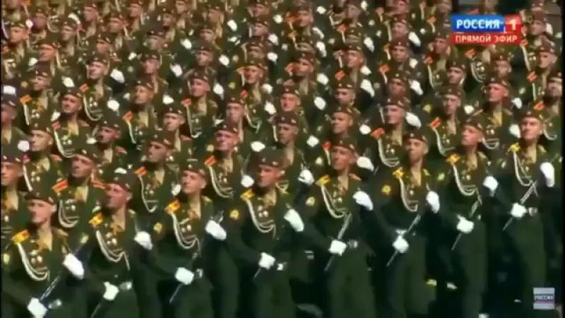 Парад Победы 2018 Кремлёвские курсанты МВОКУ