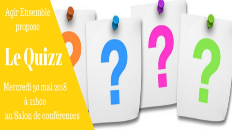 Agir ensemble du 30 mai 2018 - Le Quizz : Les conventions de Genève