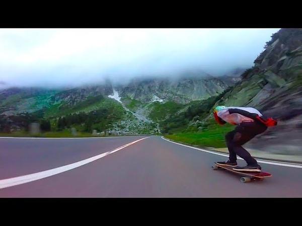 Mind Blowing downhill longboarding  Adrià Arquimbau Codina 