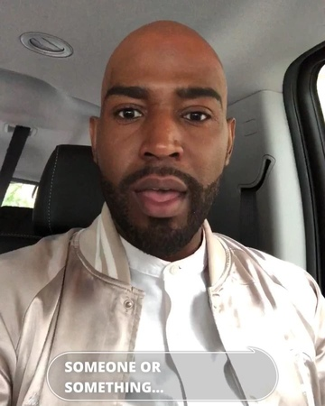 "Karamo on Instagram: ""HeyFriends, when you here people saying negative or ignorant comments feel empowered to call them out but also challenge to ..."