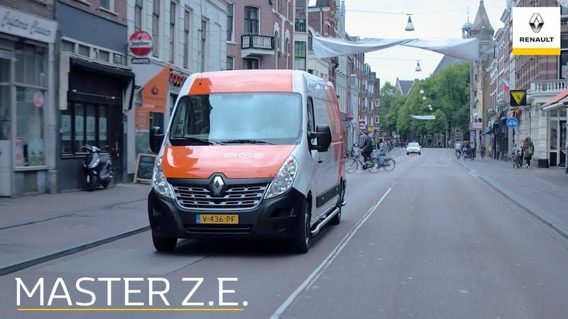 De Renault Master Z.E. - Eduard Veen over elektrische bedrijfswagens