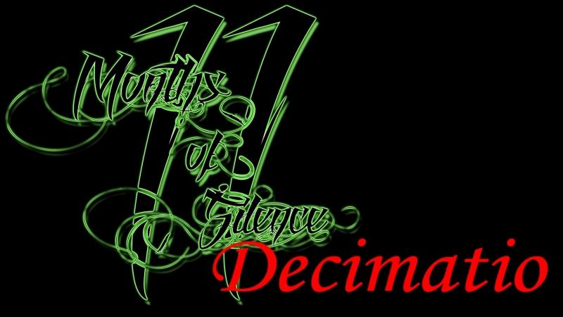Спартак: Война проклятых / Eleven months of silence - Decimatio