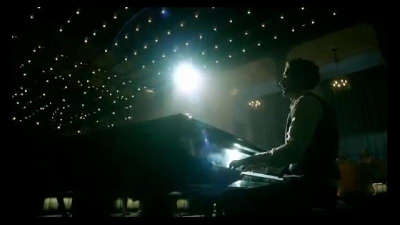 Tom Ellis Lucifer playing Metallica Unforgiven (s2e06)