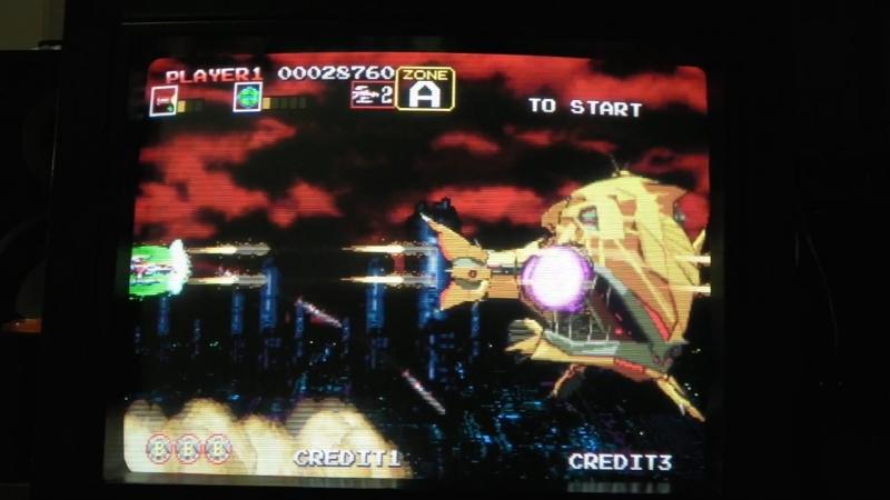 Darius Gaiden ダライアス外伝 Sega Saturn NTSC J Scart RGB