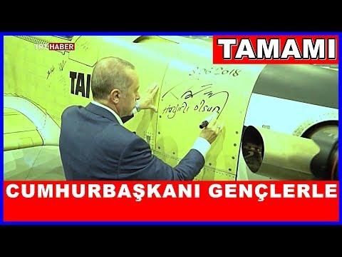 Cumhurbaşkanı Erdoğanın Taide Gençlerle Buluşması TAMAMI