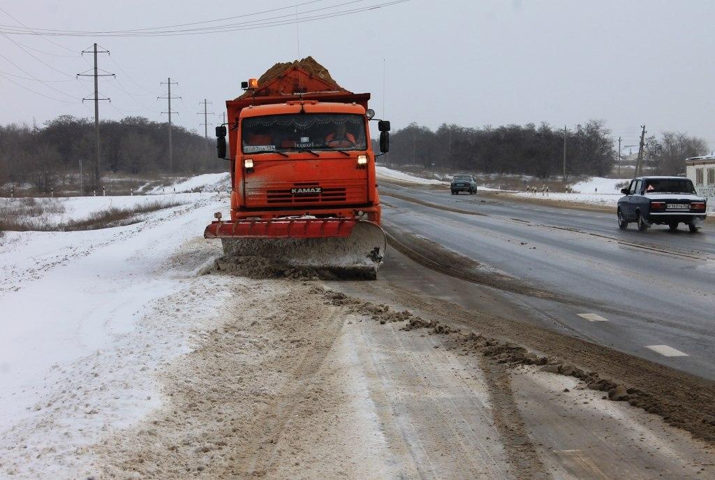 ФКУ Упрдор «Азов»: На трассах ЮФО ожидается снег с дождем