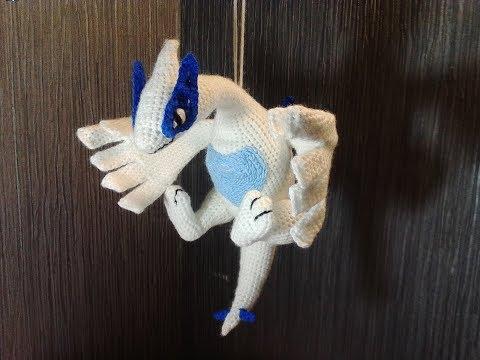 Покемон Лугиа, ч.1. Pokemon Lugia, р.1. Amigurumi. Crochet. Амигуруми. Игрушки крючком.
