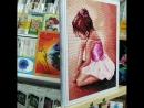 Балерина малышка Алмазная мозаика. Демонстрация готовой работы.