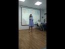Выступление, на вручении диплома в куиц