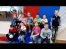 Поддержка Русской футбольной команды детьми из Боровичей