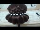 Peinados recogidos faciles para cabello largo bonitos y rapidos con trenzas para (3)