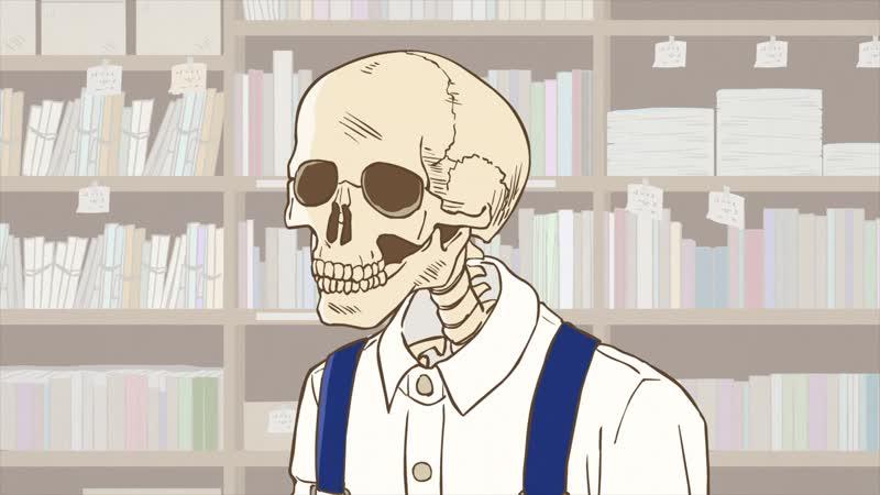 [AniDub] Gaikotsu Shotenin Honda-san [01] | Отвратительные твари из книжного