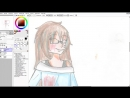 [Purple Daisy live] Как рисовать в sai мышкой | Урок 1