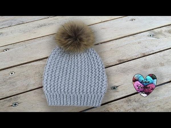 Tricot Bonnet Sibérie magnifique pas à pas