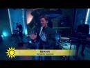 Benjamin Ingrosso Behave Nyhetsmorgon Live 2018