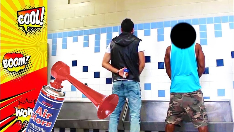 AIR HORN Compilation | Best Funny Videos | air horn prank