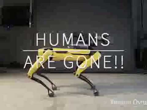 HUMANS ARE GONE!!