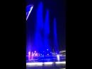 Шоу фонтанов в Олимпийском парке в Сочи