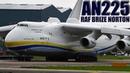 Incredible World's Biggest Plane (Antonov 225) Powerful Takeoff   RAF Brize Norton, UK (With ATC)